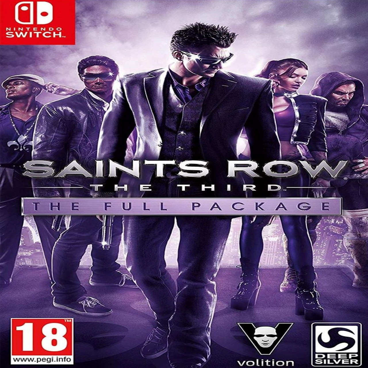 Saints Row: The Third - The Full Package (російські субтитри) Nintendo Switch
