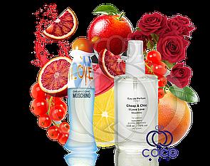 Женская парфюмированная вода Moschino I Love Love 110 Ml ОАЭ в пластиковой бутылке