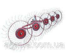Грабли ворошилки к трактору навесные 5-колесные Agromech