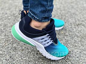 Кроссовки женские подростковые зеленые Nike Presto реплика, фото 3