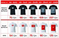 Прямая цифровая печать на футболках, одежде, толстовках, х/б ткани