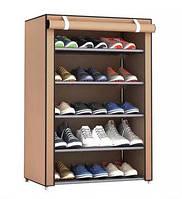 Стеллаж для хранения обуви Combination Shoe Frame 60X30X90 коричневый! Лучшая цена