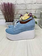 36 р. Туфли женские замшевые, из натуральной замши, натуральная замша