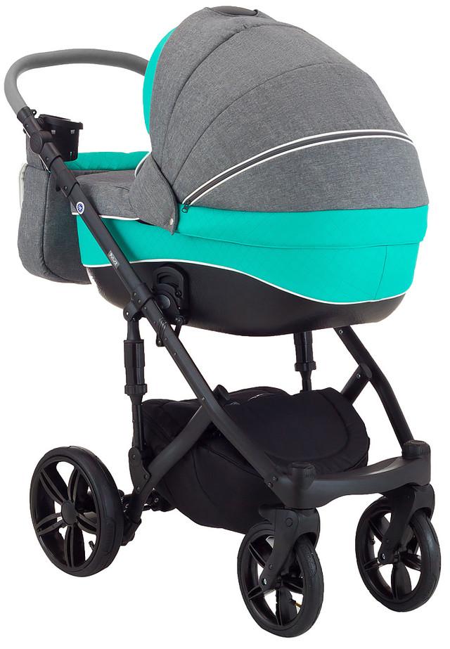 Детская коляска универсальная 2 в 1 Adamex Prince X-11-А