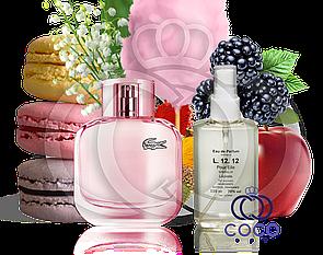 Женская парфюмированная вода Lacoste Eau De L.12.12 Pour Elle Sparkling 110 ML ОАЭ в пластиковой бут