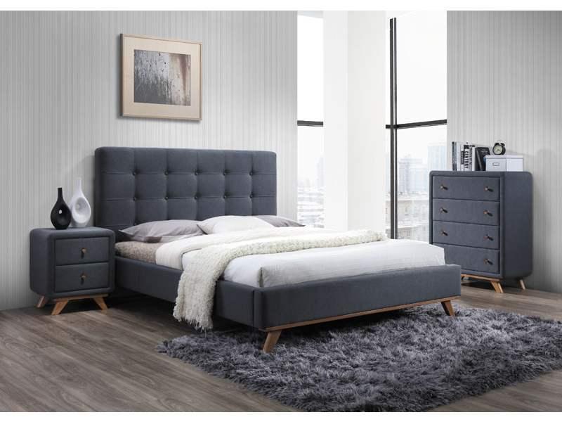 Ліжко MELISSA 160 сірий (Signal)