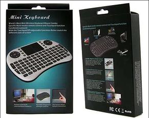 Беспроводная мини клавиатура с тачпадом RT-MWK08, фото 2