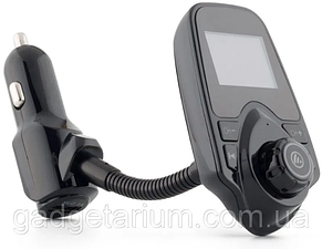 Автомобильный FM трансмиттер модулятор T10 Bluetooth, AUX, USB 12-24V, фото 2