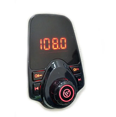 Автомобильный FM трансмиттер модулятор T10 Bluetooth, AUX, USB 12-24V, фото 3