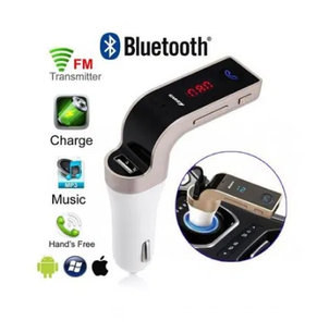 Автомобильный FM трансмиттер модулятор CAR G 7 Оригинал Bluetooth, AUX, фото 2