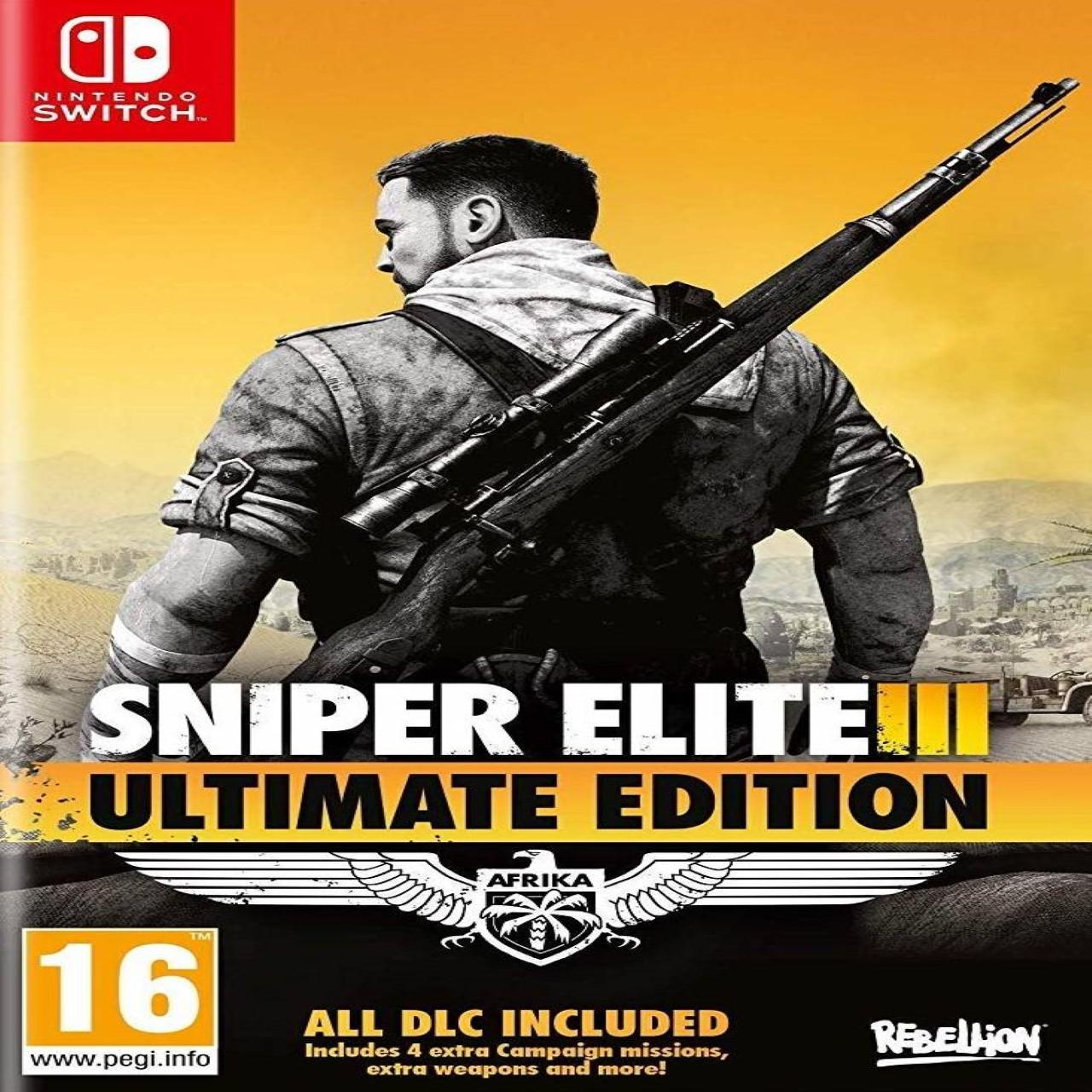 Sniper Elite 3 Ultimate Edition (русская версия) Nintendo Switch