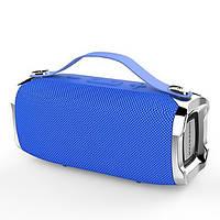 Беспроводная портативная влагозащищенная стерео колонка Hopestar H36 Mini Супер Басы синяя! Лучшая цена