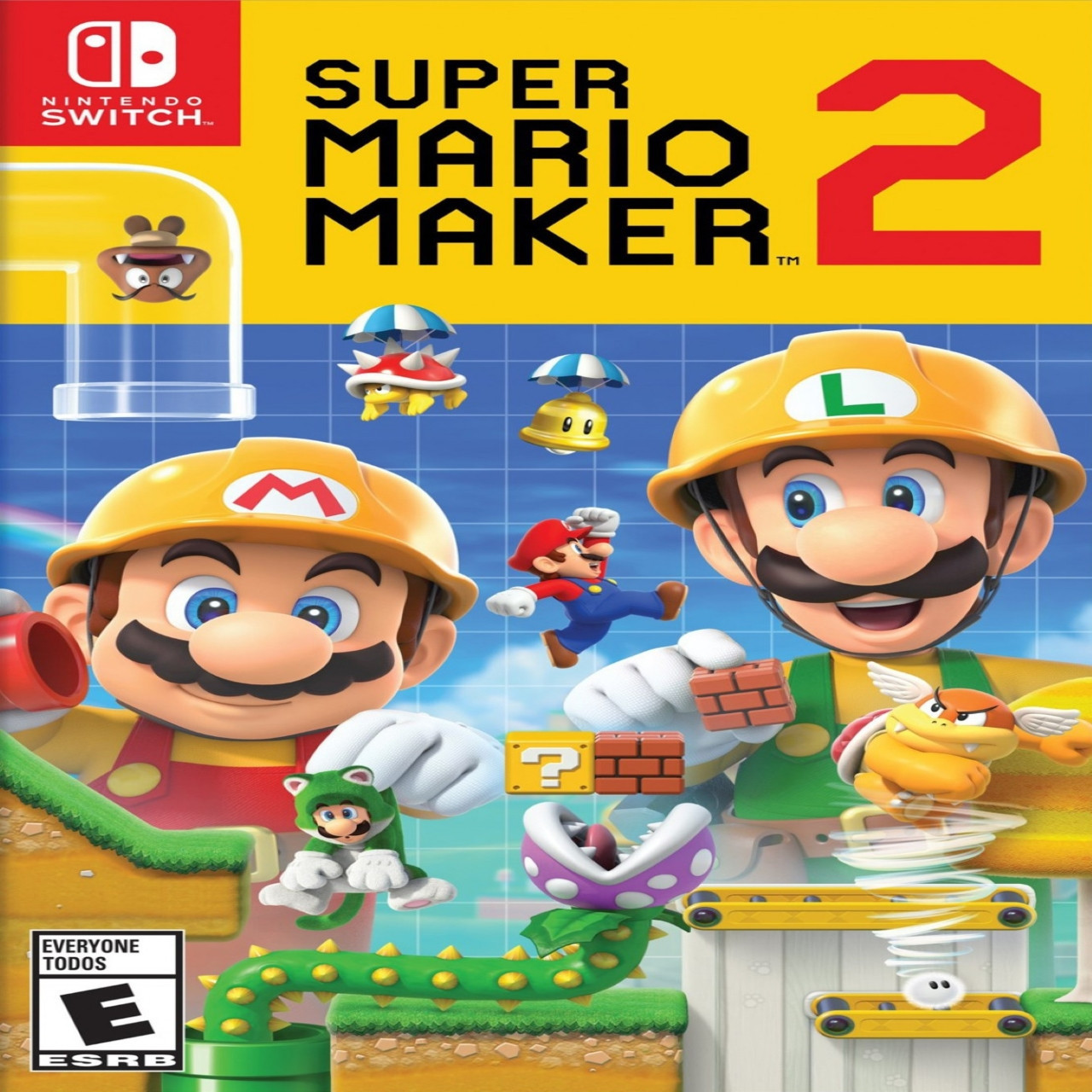Super Mario Maker 2 + Підписка Nintendo Switch SUB Nintendo Switch