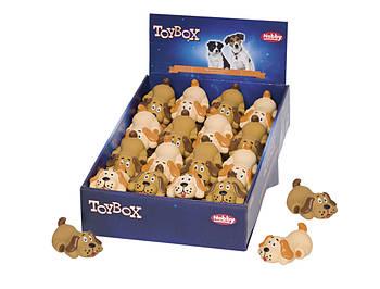 Игрушка для собак собачка-мини 8,5см латекс Нобби