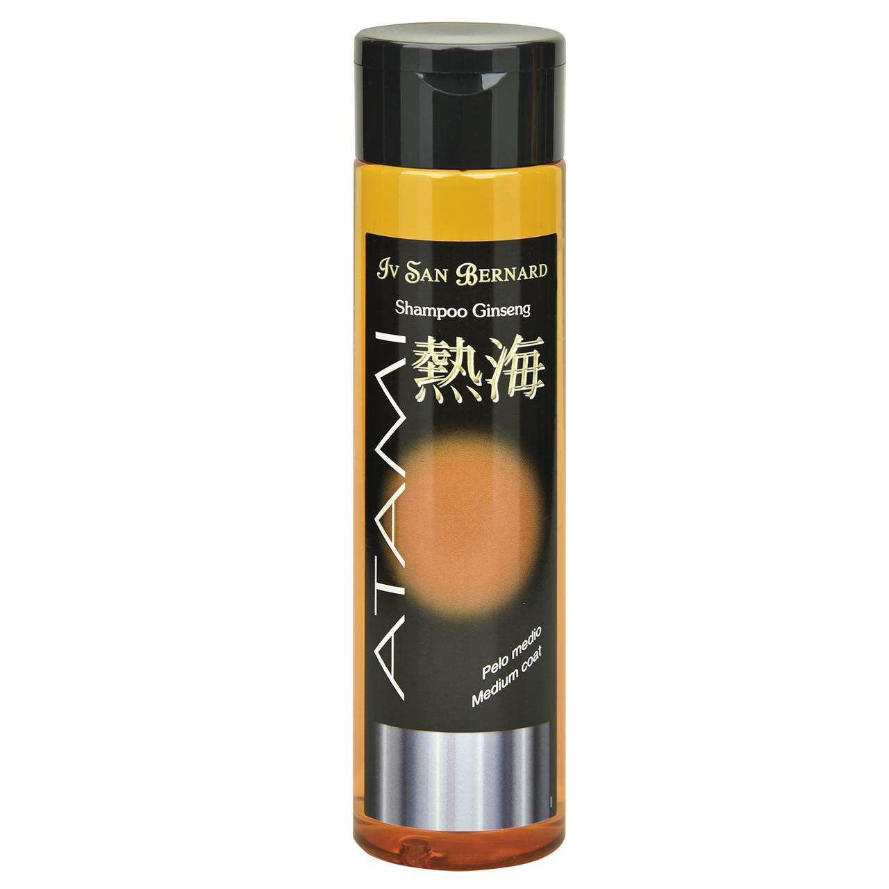 Шампунь Iv San Bernard Ginseng для средней шерсти, питание кожи, восстановление, 250мл