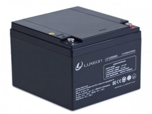 Luxeon LX12-26MG 12V 26AH Аккумулятор мультигелевый AGM