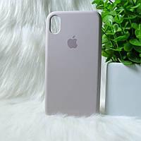 Чехол iPhone XR бежевый
