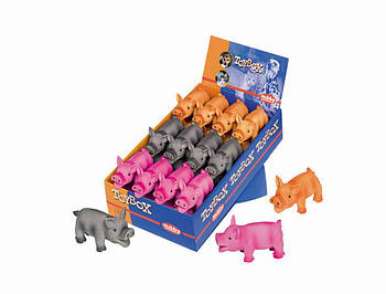 Игрушка для собак свинка  11см латекс  Нобби