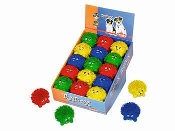 Игрушка для собак Ёжик 8,5см латекс Нобби