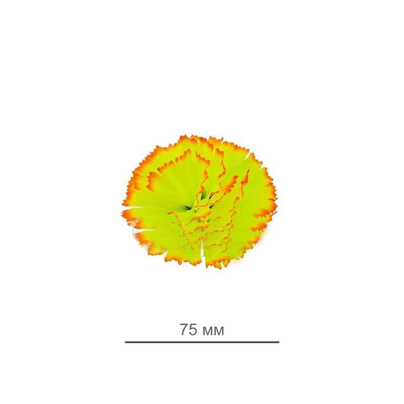 """Искусственный цветок """"Гвоздика"""" материал шелк 75 мм микс расцветок"""