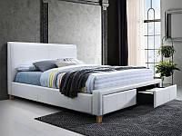 Кровать NEAPOLI 160 белый (Signal)