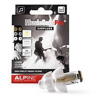 Беруши для музыкантов, DJ Alpine Hearing Protection MusicSafe Pro (New) Прозрачные