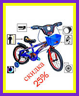 Детский велосипед Spiderman Blue 16