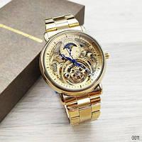 Часы Forsining 8177 All Gold SKL39-225975