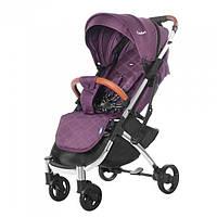 Детская прогулочная коляска TILLY Comfort T-162 Purple +дождевик