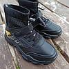 Кросівки шкіряні чорні шкарпетки дитячі кросівки nike air vapormax літні, фото 4