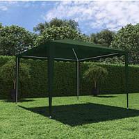 Павильон садовый 3х3х2,2м зеленый