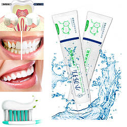 Відбілююча зубна паста Грубоководная сіль, свіже дихання, захист ясен 110г