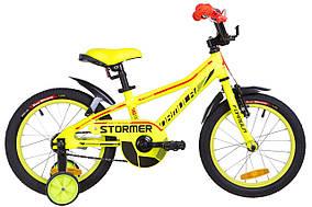 """Велосипед 16"""" Formula STORMER 14G Al с крылом Pl 2019 (желтый)"""