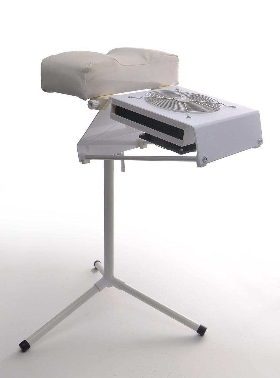 Подставка для педикюра тринога с фиксацией для настольной маникюрной вытяжки Teri  500m