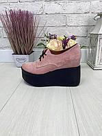 36 р. Туфли женские замшевые, из натуральной замши, натуральная замша, фото 1
