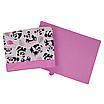 Ящик (коробка) для хранения, 25 * 35 * 20см, (хлопок), с отворотом (панды с шариками / розовый), фото 3