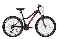 """Велосипед AL 26"""" Formula MYSTIQUE 2.0 AM Vbr 2020 (черно-малиновый с серебристым)"""