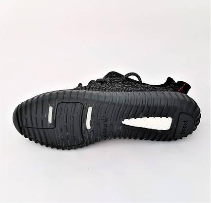 Кроссовки ADIDAS Черные Адидас Мужские Изи Буст (размеры: 41,42,44,45) Видео Обзор, фото 3