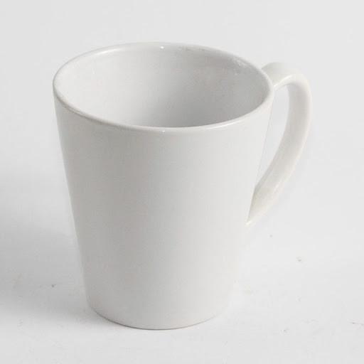 Чашка белая для сублимации Латте маленькая