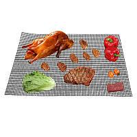 Антипригарна сітка для гриля з тефлоновим покриттям 65*45 см, фото 1