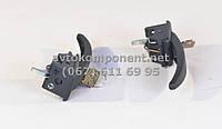 Ручка двери наружняя (черная) УАЗ 452 (комплект- 2 шт.) в сборе с ключом (производство г.Ульяновск) (арт. 452-6105150), ACHZX