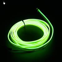 Fresh green Холодный неон, Неоновая лента, 5 м. Декоративная подсветка, украшение интерьера. 3В, 5В, 12В