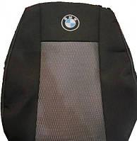 Чехлы на BMW 5 (E-34) 1987-1996рр. (седан) (спинка і сидіння суц., 2 пер. і задн. підлок., 4 підгол.)