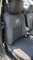 Чехлы на MAZDA 6  2008-2012рр. (седан) (airbag, сп. 1/3, задн. підлок., крила, 5 підгол.)