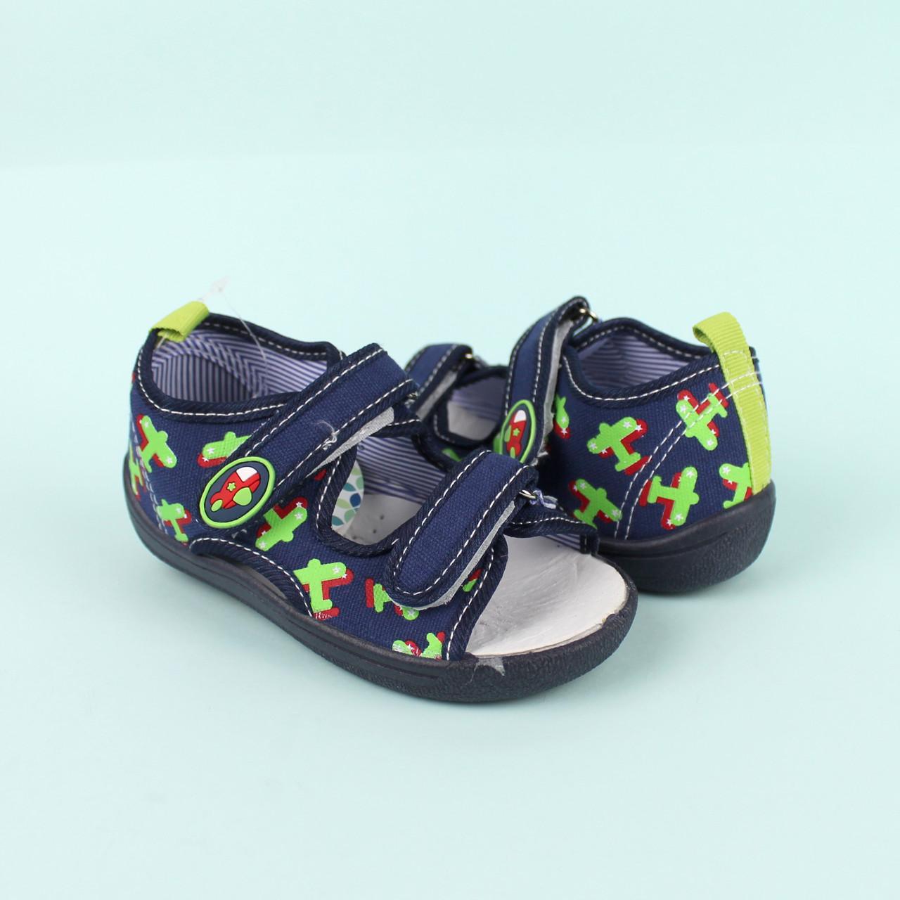 Детские текстильные сандалии для мальчика тм Том.м размер 21,22,23,24,25,26