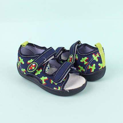 Детские текстильные сандалии для мальчика тм Том.м размер 21,22,23,24,25,26, фото 2