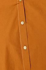 Свободная рубашка с классическим воротником, фото 3