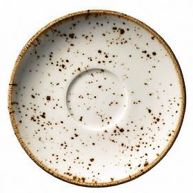 """Блюдце для большой чашки фарфоровое Kutahya Porselen """"Corendon"""" 170 мм (CR3717)"""