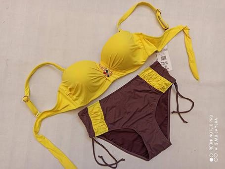 4Купальник SISIANNA 39201 Зита желтый (есть 48 размеры), фото 2