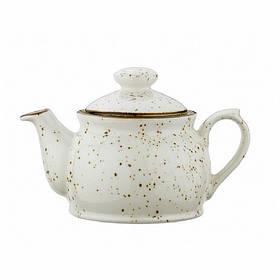 "Чайник-заварник фарфоровый под мрамор Kutahya Porselen ""Corendon"" 540 мл (CR3754)"